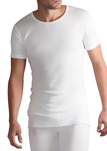 082e4de76 HEAT HOLDERS Véritable pour homme Original thermique d'hiver chaude TOG à  manches courtes Gilet/T-shirt - Blanc - Disponible en. S, M, L, XL et ...