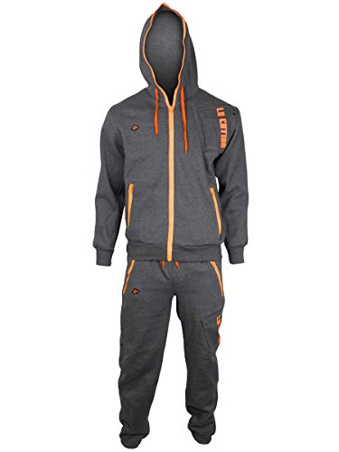 Location Mens Boys Full Fleece Tracksuit Pant Hoodie Hoody Training Jogging New