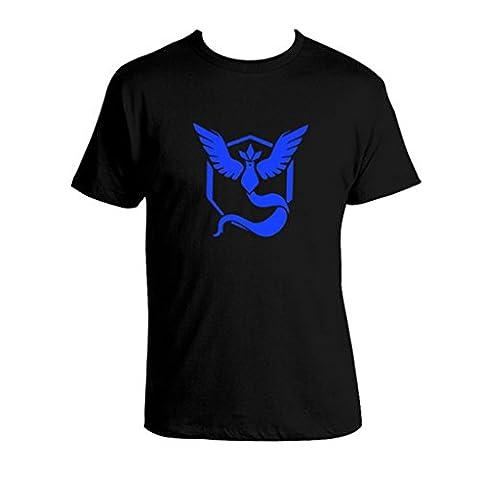 Pokemon Go T-shirt Team Valor Mystic Equipe Instinct Pokeball Tops
