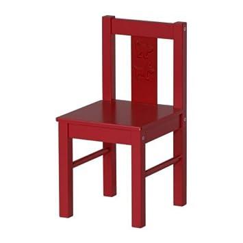 IKEA Kinderstuhl KRITTER, ROT: Amazon.de: Küche & Haushalt