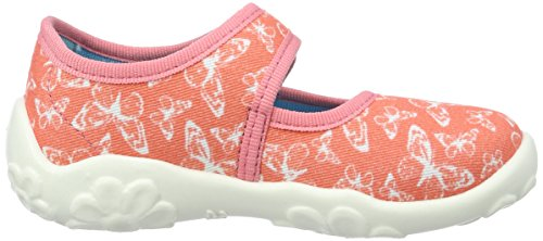 Superfit 00028377, Chaussons fille Orange (apricot Kombi)