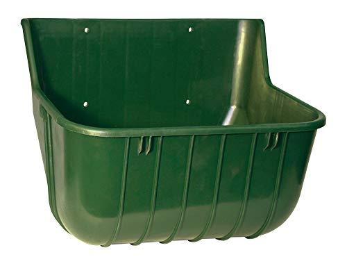 Kerbl 3258 Futtertrog 15 Liter rechteckig, Trog aus splitterfreiem Kunststoff