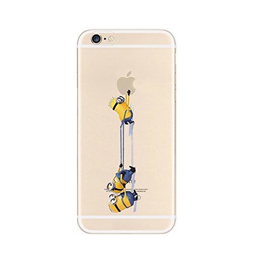 Coque souple pour Apple iPhone 4/4S, 5/5S/SE, 5C, 6/6S et 6Plus Motif Minion, plastique, 3 MINIONS 5, Apple iPhone 6