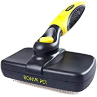 Bonve Pet Deshedding Tool & Pet Grooming Brush for Small, Medium & Large Dogs, Cats and horses, Professional Deshedding Tool & Pet Grooming Brush, Reduces Shedding by up to 95%