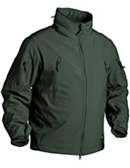 Helikon Gunfighter Soft Shell Veste Vert Jungle