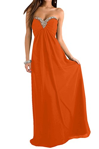 TOSKANA BRAUT -  Vestito  - linea ad a - Donna Arancione
