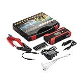 Démarreur de voiture portable, étanche 16500Mah 4USB US/EU / UK/AU Plug 4LED...