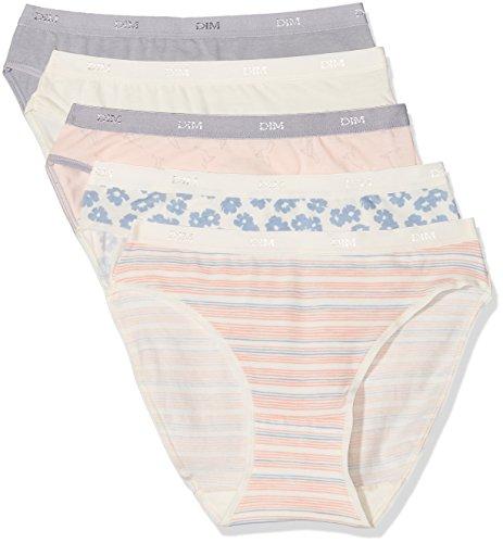 Dim Trousse Slip Pocket Coton X5 - Braguita para mujer