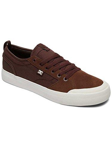 DC Shoes Evan Smith, Sneakers Basses Homme Marron - Brown/Gum