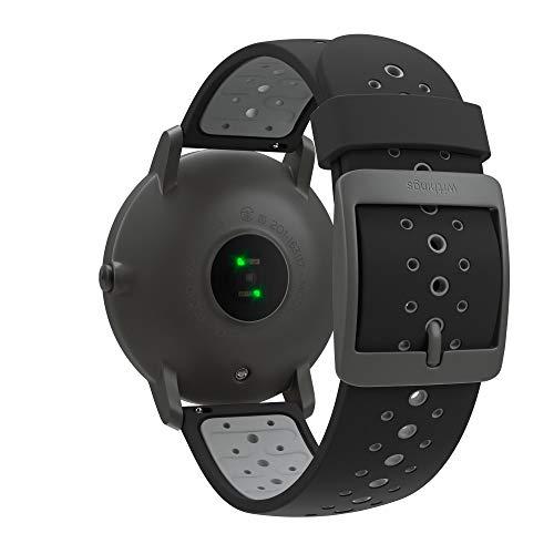 Withings Steel HR Sport - Multi-Sport Hybrid Smartwatch - Herzfrequenz- und Fitnesstracker, schwarz, 40mm - 4