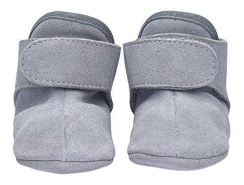 Lite Walker Schuh (Lodger WKLE1001-301XL Schuhe Leder Walker Leather Basic 15-18 Monate, Light Grey)