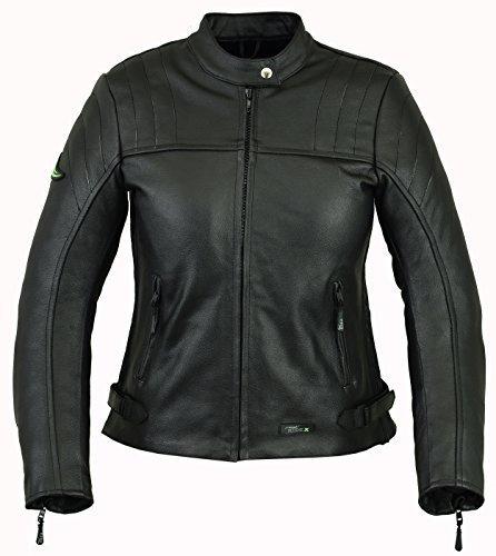 RIDEX LJ6chaqueta de piel de moto, mujer