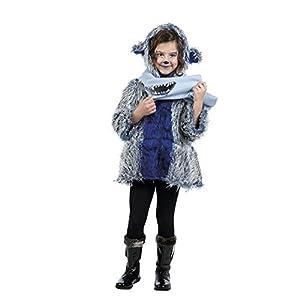 Limit Sport - Disfraz de abrigo y bufanda monstruo para niños, talla 2 (MI921)