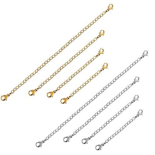 sailimue-8pcs-acier-inoxydable-chainette-dextension-rallonge-de-chaine-avec-fermoir-pour-collier-bra
