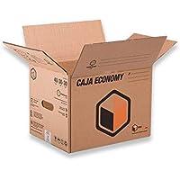 (x10) Cajas de Cartón Mudanzas y Almacenaje Canal Simple - Lote de 10 unidades