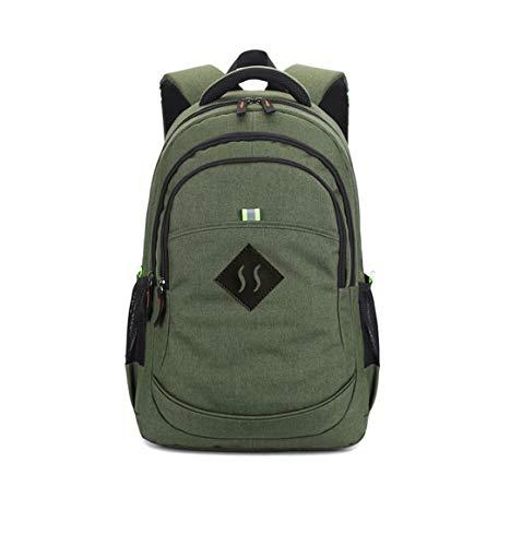 Dilong Herren Casual Coole Backpack Canvass Retro College Daypacks Classic Young Fashion Leicht Schulranzen Laptop Apart Schultasche