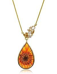 Miranika Gold Plated Pendant for Women (Multi-Colour)(C1D5LRP)