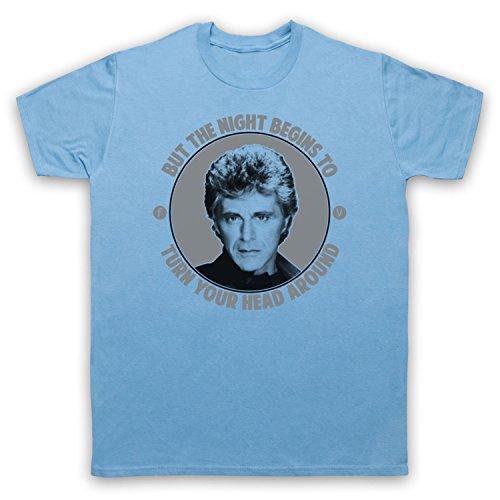 Inspiriert durch Frankie Valli The Night Unofficial Herren T-Shirt Hellblau