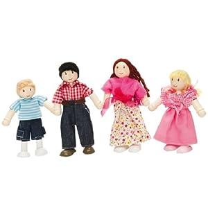 Le Toy Van 19053 - Famiglia di bamboline