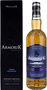 Armorik Double Maturation Breton Single Malt Whisky, 70 cl by Armorik