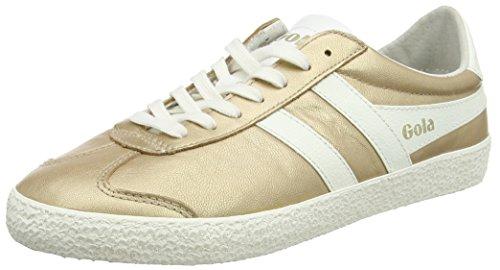 Gola Specialist Metallic, Sneaker Donna Oro (Gold/off White)