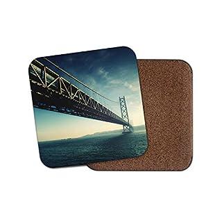 Akashi Kaiky¹ Bridge Untersetzer – Kobe Japan Japan Travel Cool Fun Geschenk #13057