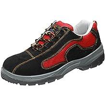 Magideal Zapatos de Trabajo de Acero Botas de Seguridad Rojo para Hombres Y Mujeres - EU 37 US 6 UK 4
