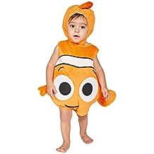 Amscan dcne TA06–Costume per bambini Nemo peluche Copriletto con cappello, 68–80cm