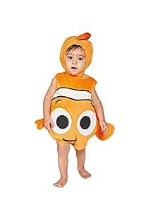 amscan Disfraz para niños de Nemo, Terciopelo con Capucha