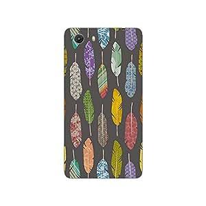 Garmor Designer Plastic Back Cover For Micromax Unite3 Q372