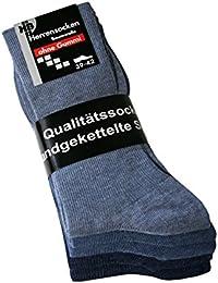 Herrensocken ohne Gummi Socken ohne Gummibund ohne Gummizug Baumwolle, 1 Paar, 5 Paar oder 10 Paar