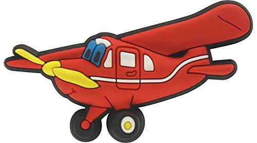Crocs jibbitz Anstecker Mr. Propeller Plane 3000021-00069, Mr. Propeller Plane, One size