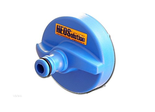 HEOSolution 5251 Water Connector with Gardena, Blue