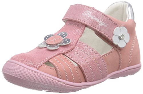 Primigi Baby Girls' Emma-E Walking Baby Shoes Pink Size: 5.5 Child UK