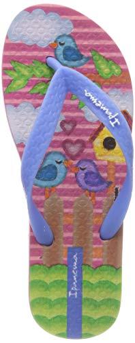Ipanema Mädchen Classic VII Kids Zehentrenner, Mehrfarbig (Pink/Blue 8885), 33/34 EU