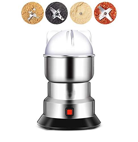 Elektrische Mixer-Maschine für Gewürze Kaffeebohne 550W kleine Mühle Portable Edelstahl-Food-Mühlen mit 150g großer Kapazität