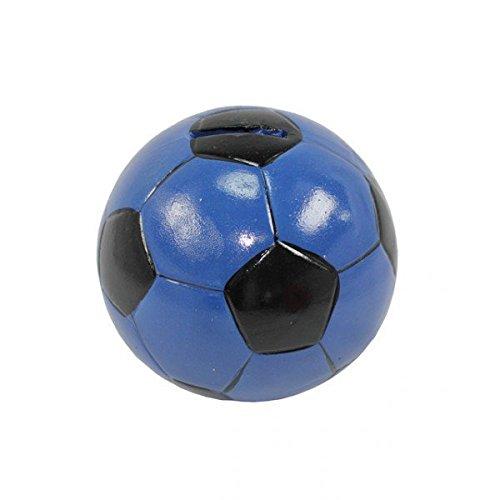 Spardose Fußball Blau Sparschwein Clubkasse Kasse
