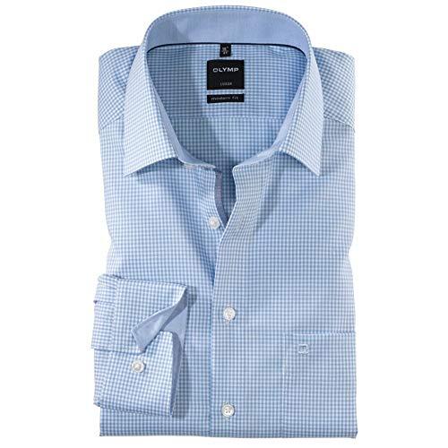 OLYMP Mini Check Formal Shirt 19