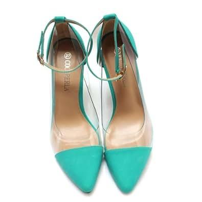 Escarpins à talons - PVC - LAGON - Chaussures femme - ORIGINALES - Inspiration Louboutin - Femme - T. 39