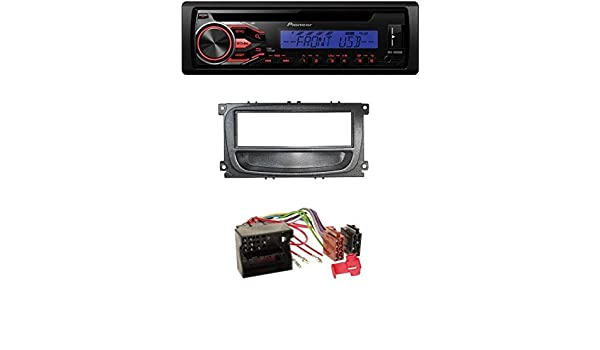 Pioneer CD MP3 player radio with Front USB AUX in Ford Cmax car stereo