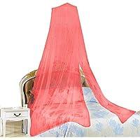 Stonges - 2 mosquiteras, protección contra insectos, toldo de cama, elegante cortina de encaje, ideal para el hogar y viajes
