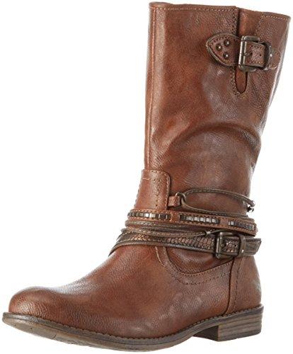 bottes femme marron