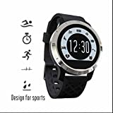 Bluetooth Sport Uhr Handy Uhr Smartwatch uhr ergonomisch Pulsmesser Fitness Schrittzähler Anruferinnerung Schlaf Systemü