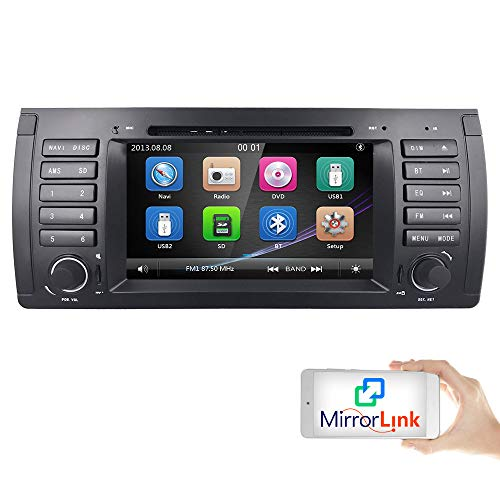 For BMW 5 Series E39 E53 X5 M5 Coche Radio Vehicle Single...