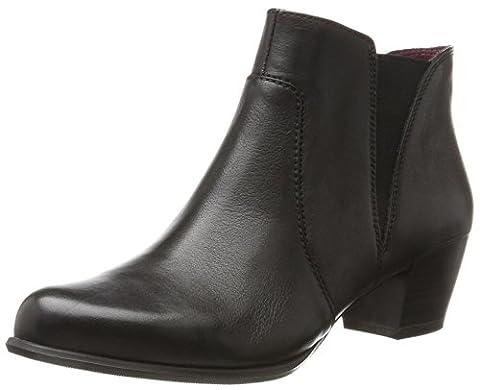 Tamaris Damen 25353 Stiefel, Schwarz (Black Leather), 39 EU