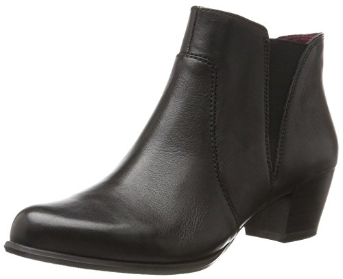 Tamaris 25353, Stivaletti Donna Nero (Black Leather)