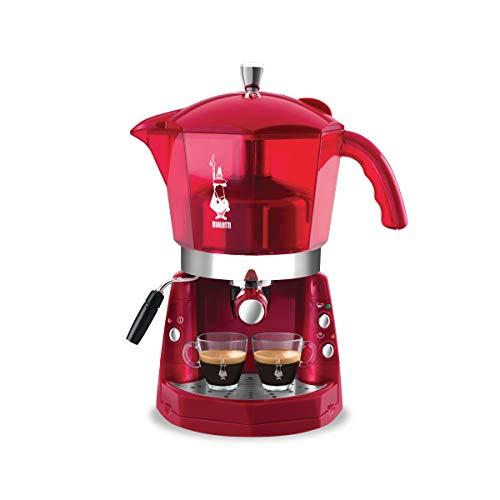 Girmi Mokona Maschine des Caffe, Rot transparent
