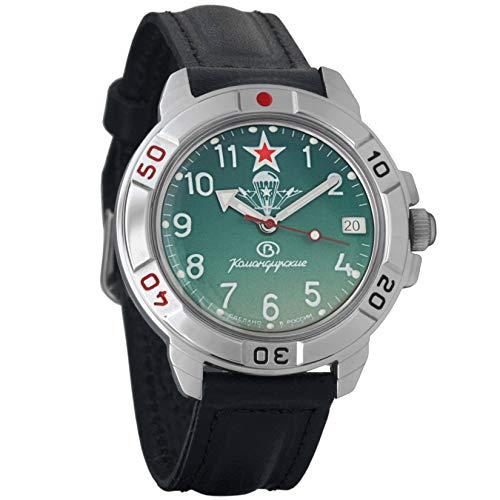 Vostok Komandirskie 2414431307militare russo VDV orologio meccanico