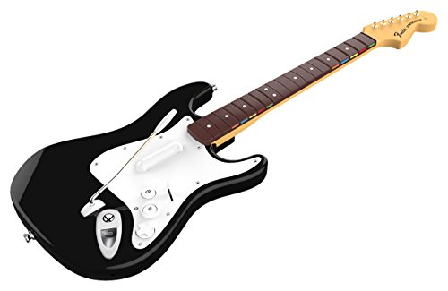 Mad Catz - Rock Band 4 Guitarra Wireless Fender Stratocaster, Color Negro (Xbox One)