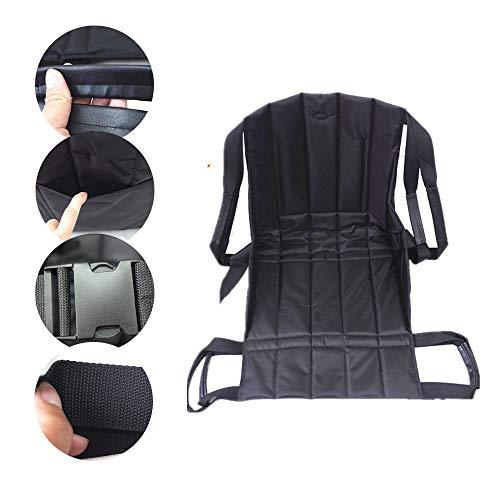 Bariatric Faltbare Rollstuhl (Gxyue Faltbarer Transfer-Sitzkissen für Rollstuhl - Transfergurt zum Transferieren des Patienten vom Rollstuhl ins Bett, Badewanne, WC, Auto Belt)